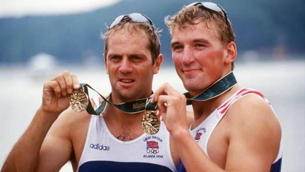 Steve Redgrave and Matthew Pinsent