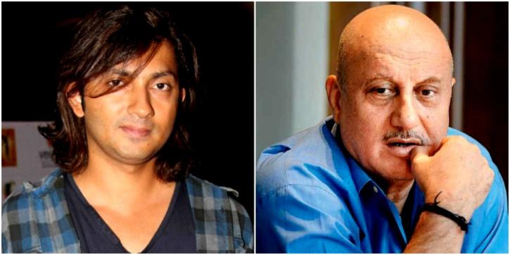 Anupam Kher and Shirish Kunder