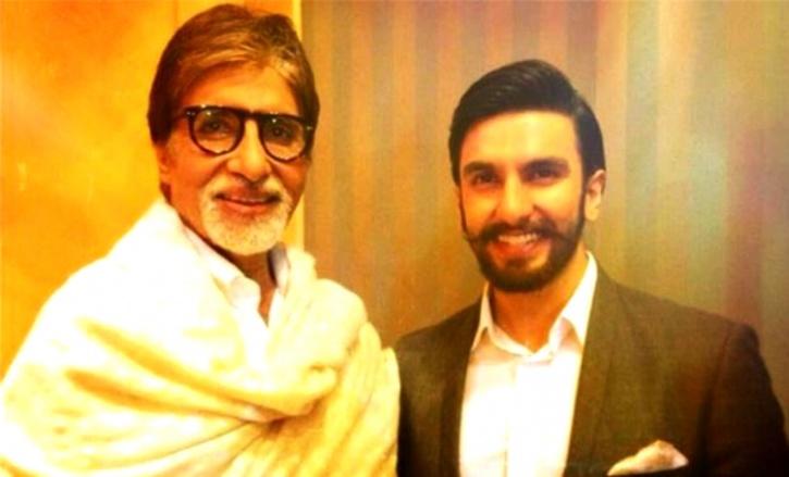 Amitabh Bachchan and Ranveer Singh
