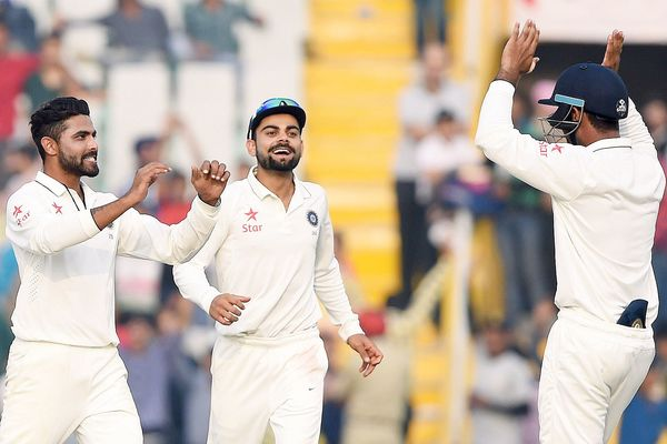 India mohali test 2015 south africa 2