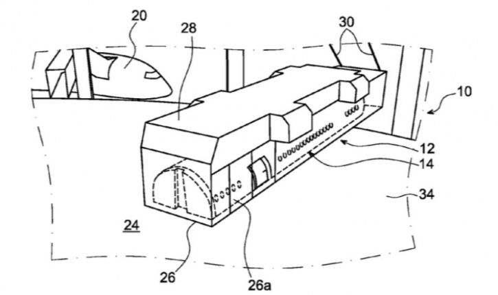 Airbus patent for detachable cabins