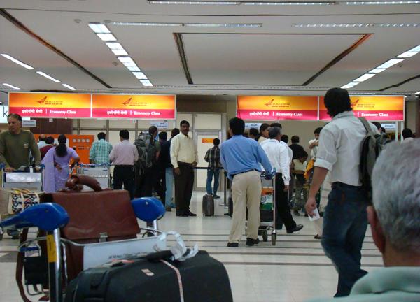 Air India counter