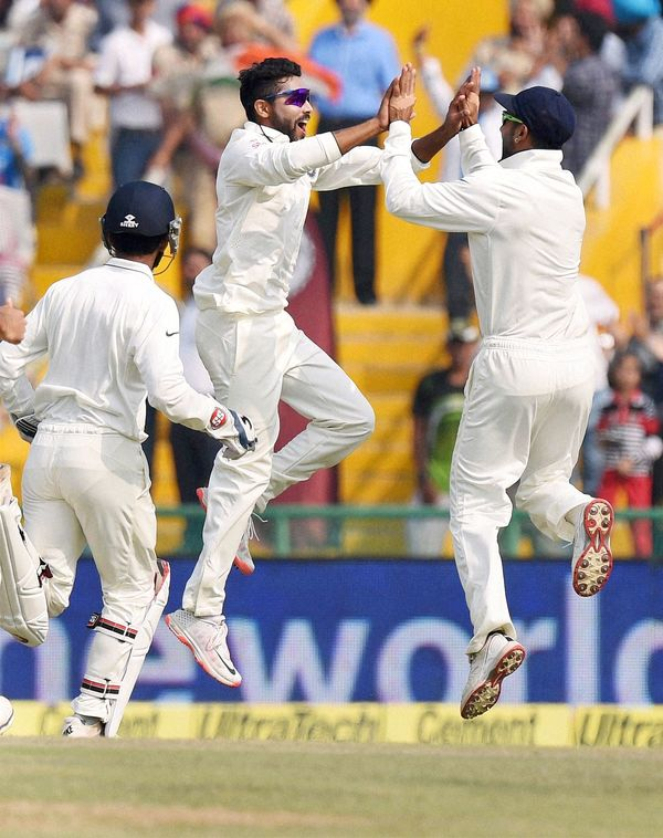 India mohali test 2015 south africa 1