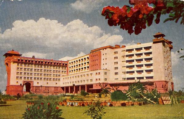 Ashoka Hotel postcard