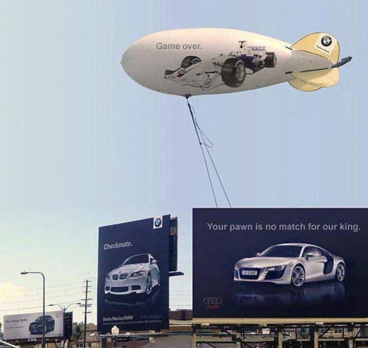 Audi v/s BMW