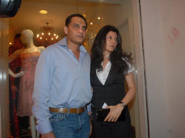 Azhar with Sangeeta