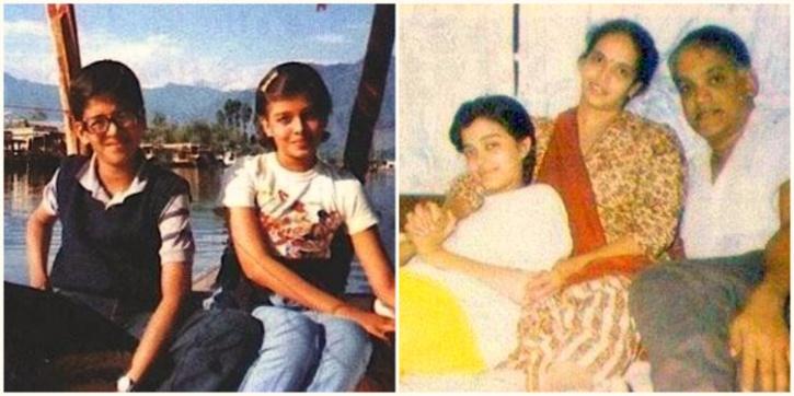 aishwarya childhood