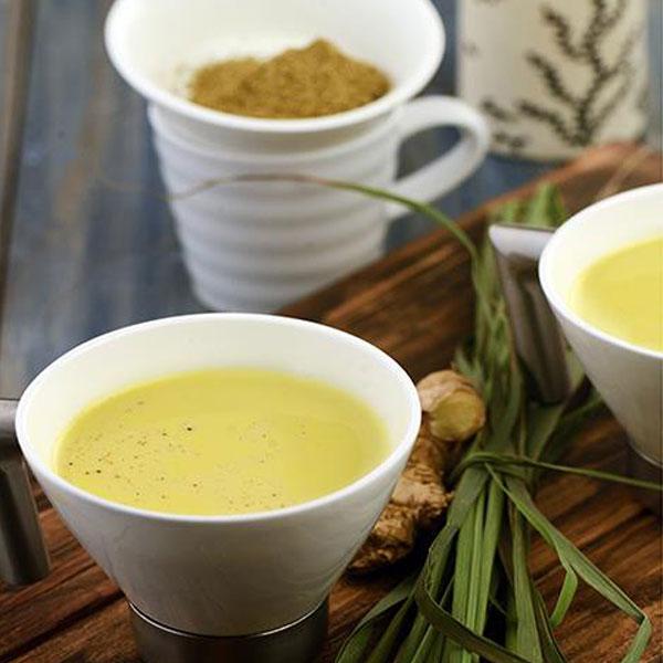 Minty Spicy Lemongrass Milk