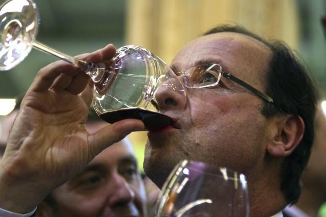 French president wine