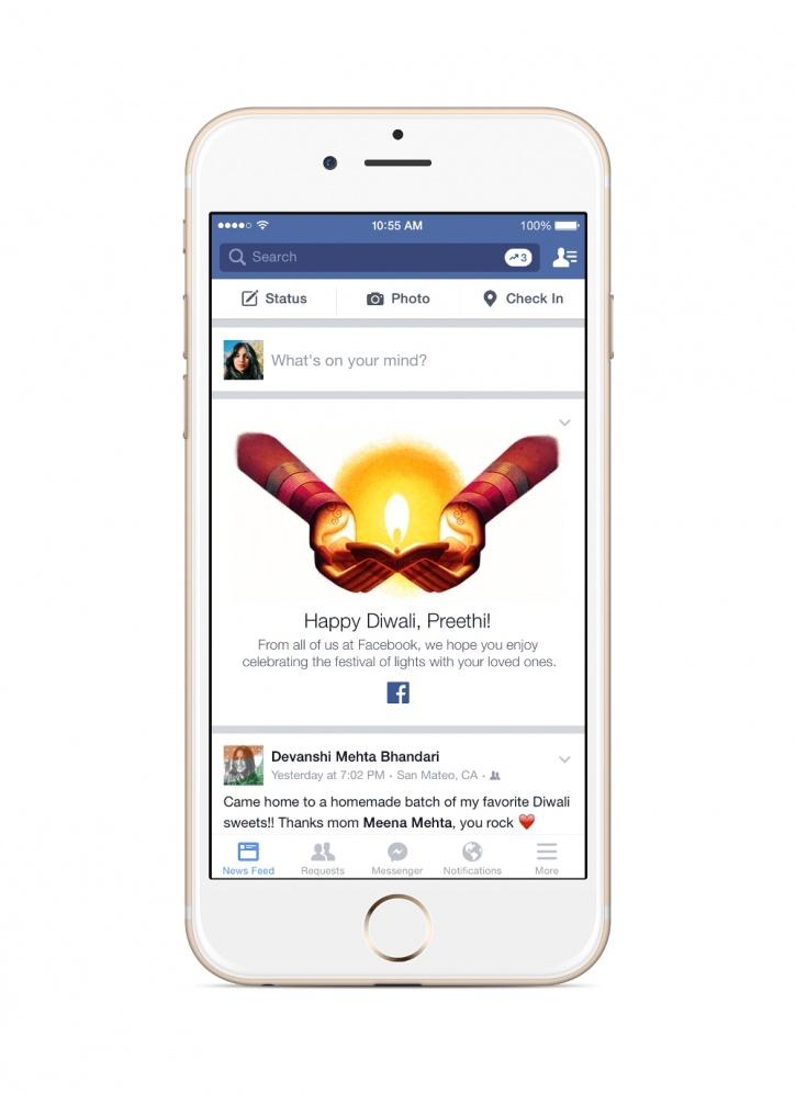 Diwali Facebook