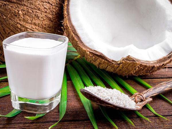 Coconut milk or oil