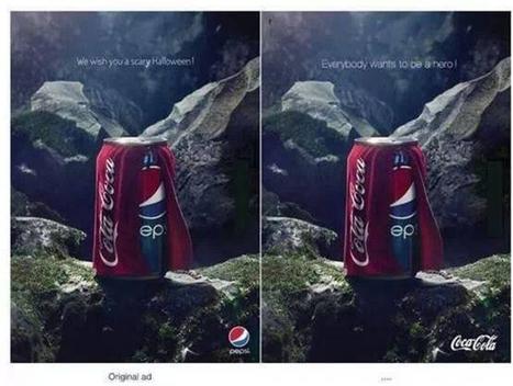 Pepsi v/s Coca Cola