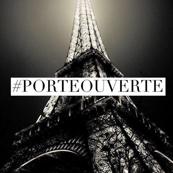 People Of Paris Take It To Twitter