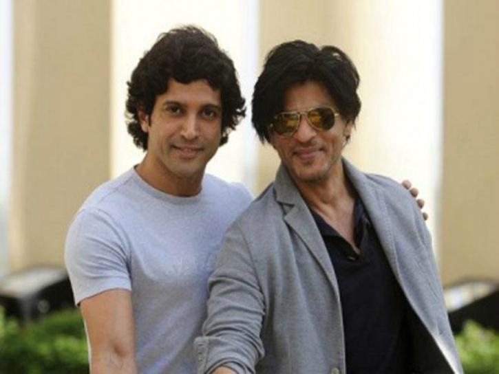 Farhan and SRK