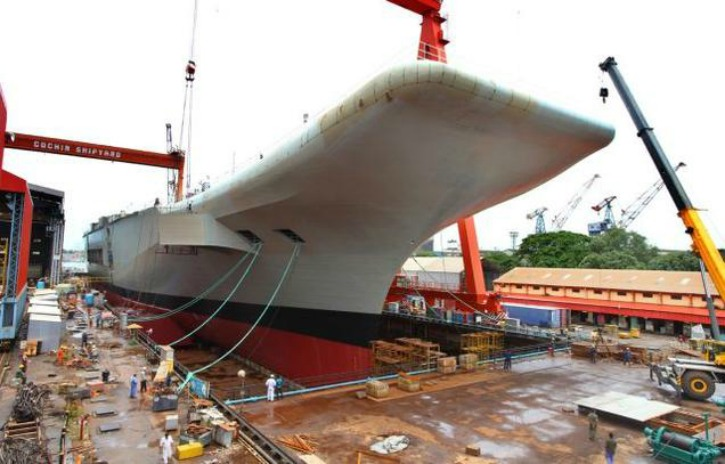 India Is Reportedly Building An Advanced Secret Warship