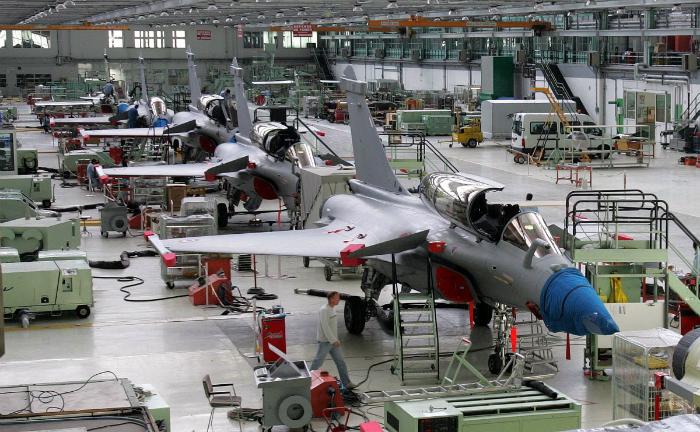 Dassault Rafale production line