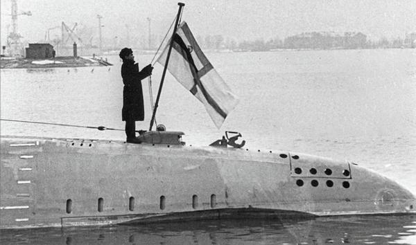 INS Kalvari in 1967