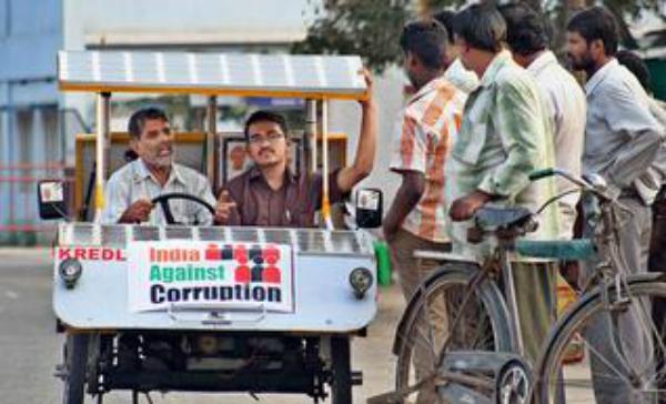 solar power against corruption