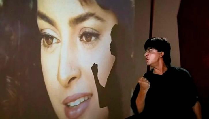 SRK and Juhi Chawla