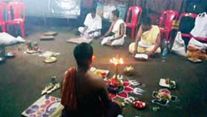 Exorcism Preformed In Kerala Bus Depot