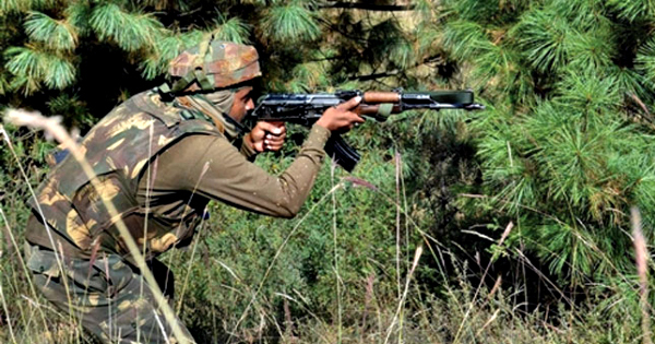 Terrorists Attack Army Camp In Jammu & Kashmir, Heavy Exchange Of Firing Continues