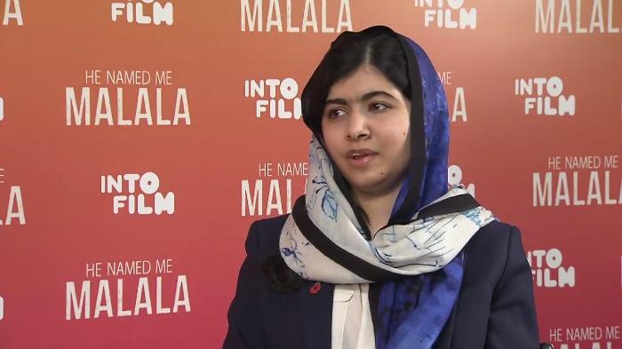 Emma Watson and Malala Yousafzai