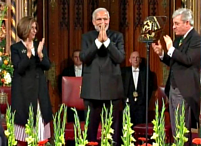 Modi Is The First Indian PM To Address UK Parliament. Here Are 7 Key Points From His Speech