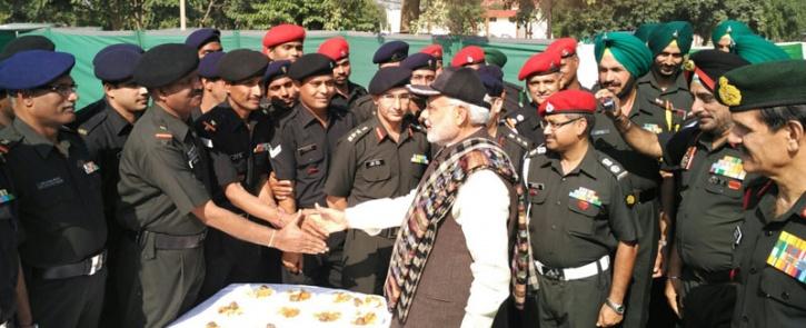 Prime Minister Narendra Modi Celebrates Second Diwali