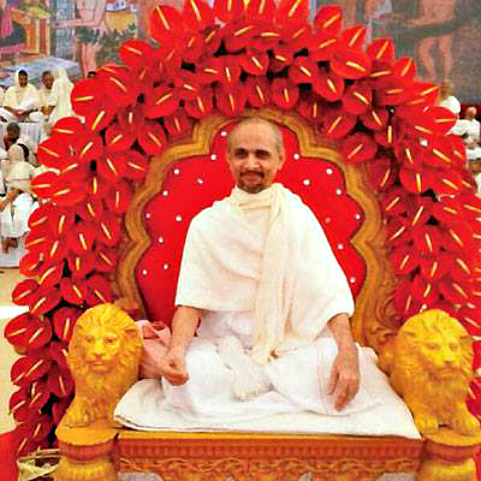 Jain Monk Shri Hansratna Vijayji Maharaj Saheb Creates History By Completing 423 Days Of Fasting Penance