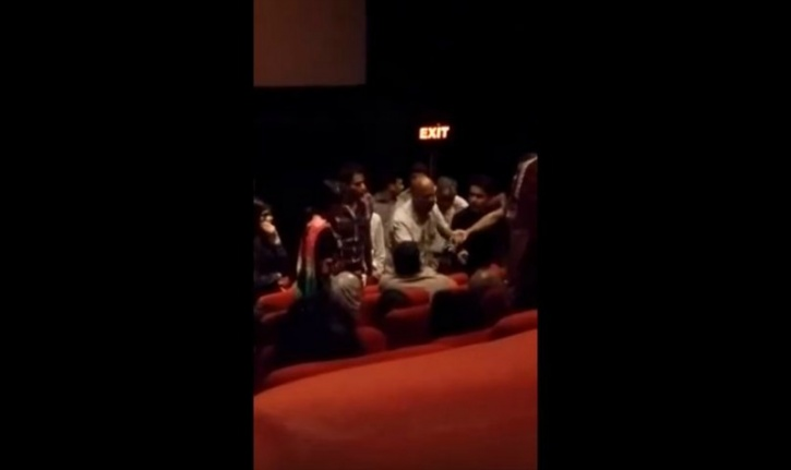 Muslims asked to leave theatre