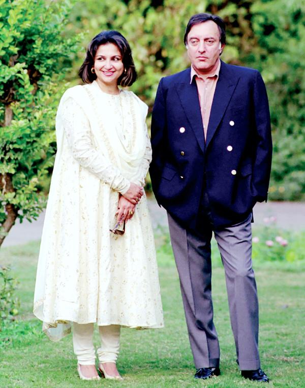 Sharmila Tagore with Nawab Pataudi