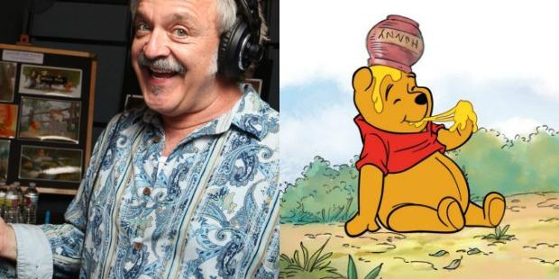 Jim and winnie the pooh