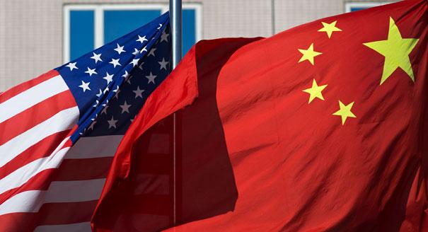america china flag