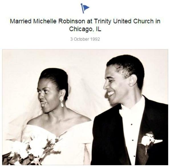 Barack Obama Facebook page