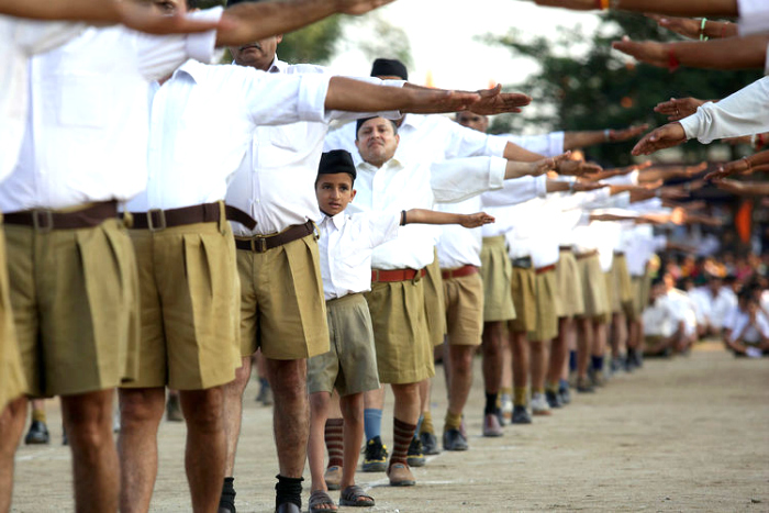 RSS Up For A Youth-Oriented Makeover, Will Drop The Chaddis And Pick Up Some Khakis