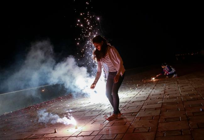 Celebbrating diwali alone