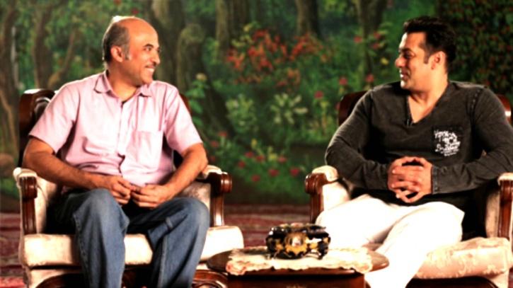 Salman Khan and Sooraj Barjatya