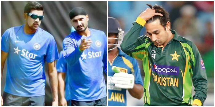 Banned Pakistani Spinner Saeed Ajmal Calls Harbhajan Singh, Ravichander Ashwin