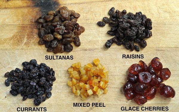 raisins sultanas