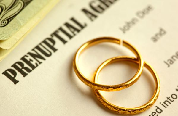 divorce prenuptial