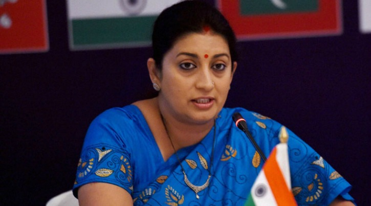 Smriti Irani Gets Into War Of Words With A Journalist