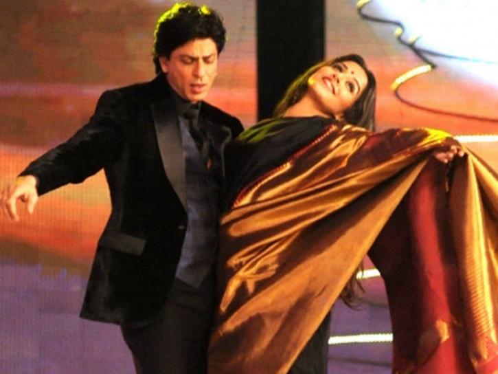 SRK and Vidya