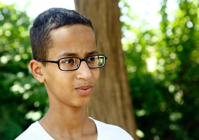 The Muslim Teenager Whose Clock Was Labelled A Bomb Is Suing His School For $15 Million In Damages