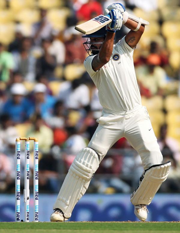 Murali Vijay drives