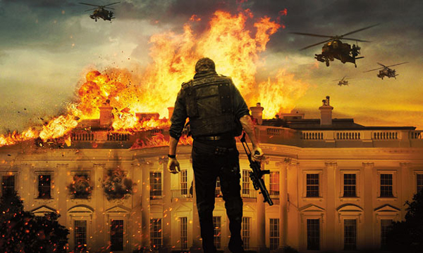 White House blown up