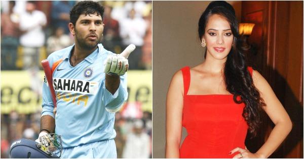 Yuvraj Singh and Hazel Keech