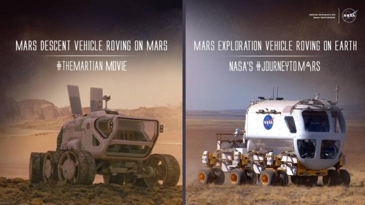 NASA vs The Martian