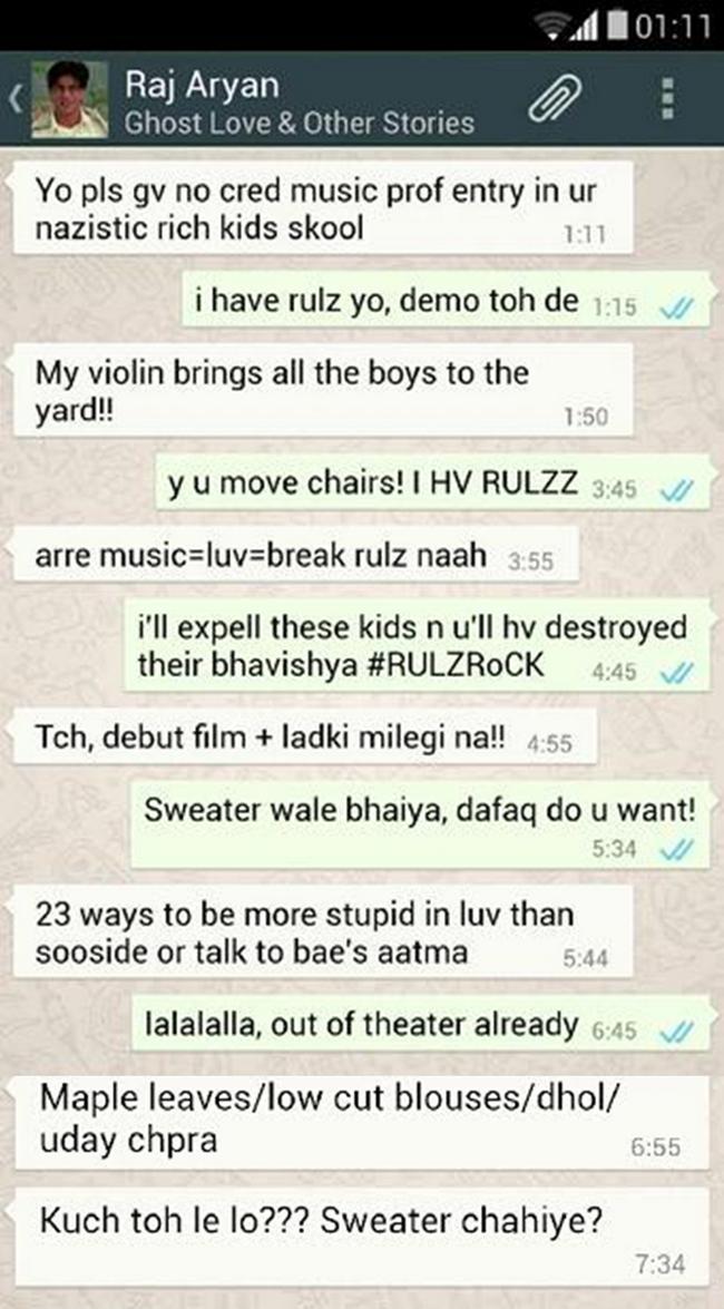 Chat whatsapp flirt The 9