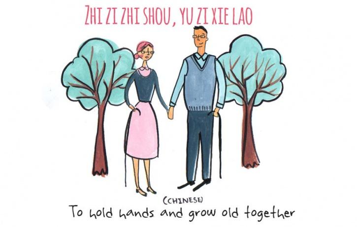 Untranslatable words of love