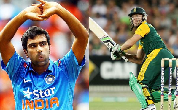 Ashwin vs AB de Villiers